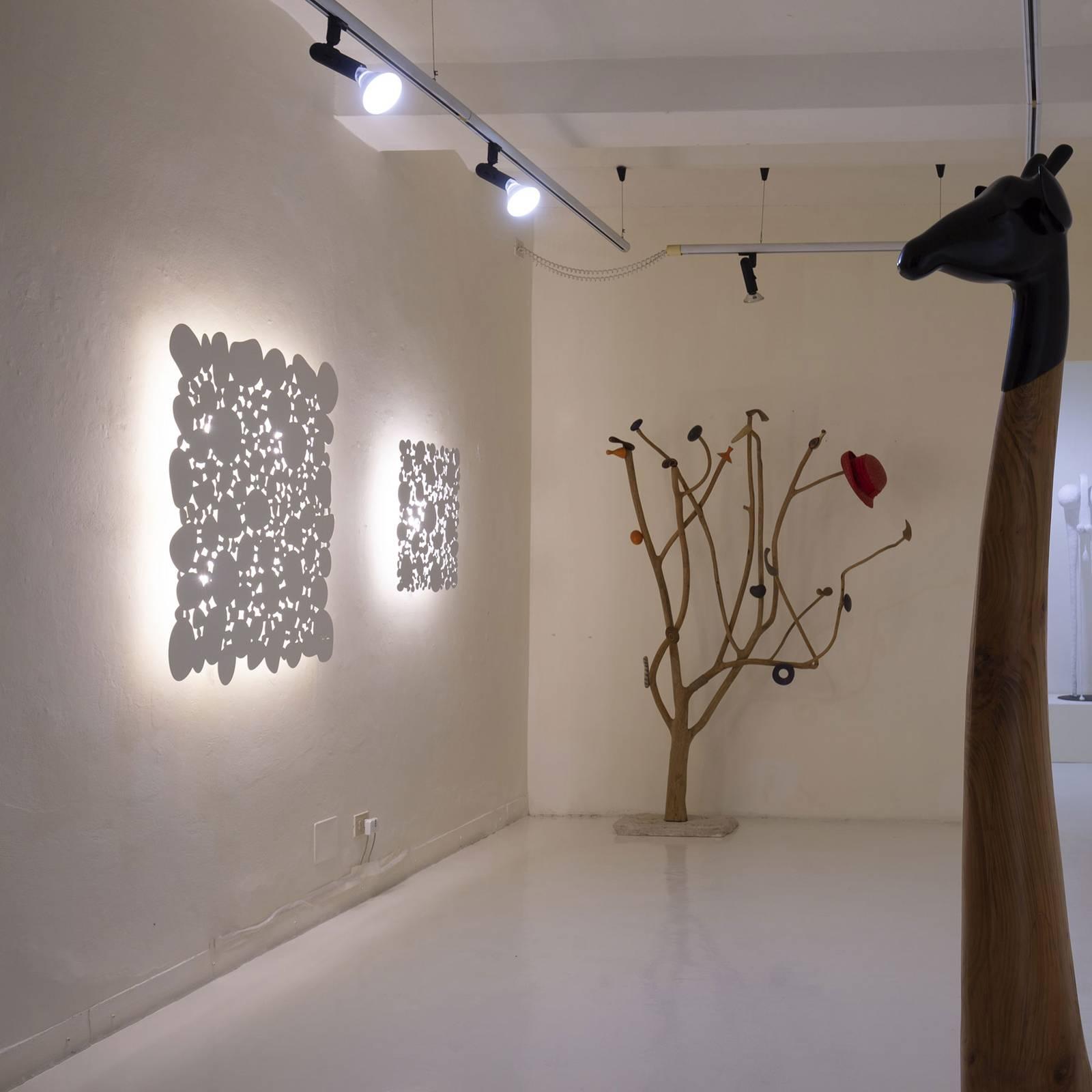 Martinelli Luce Cellule -LED-seinälamppu 110x110cm