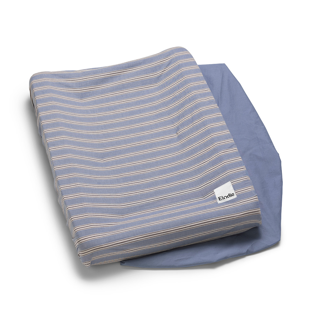Changing Pad Cover - Sandy Stripe
