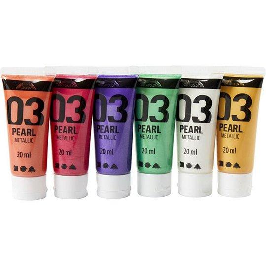 Creativ Company Akrylfarge Readymix Komplimentærfarger