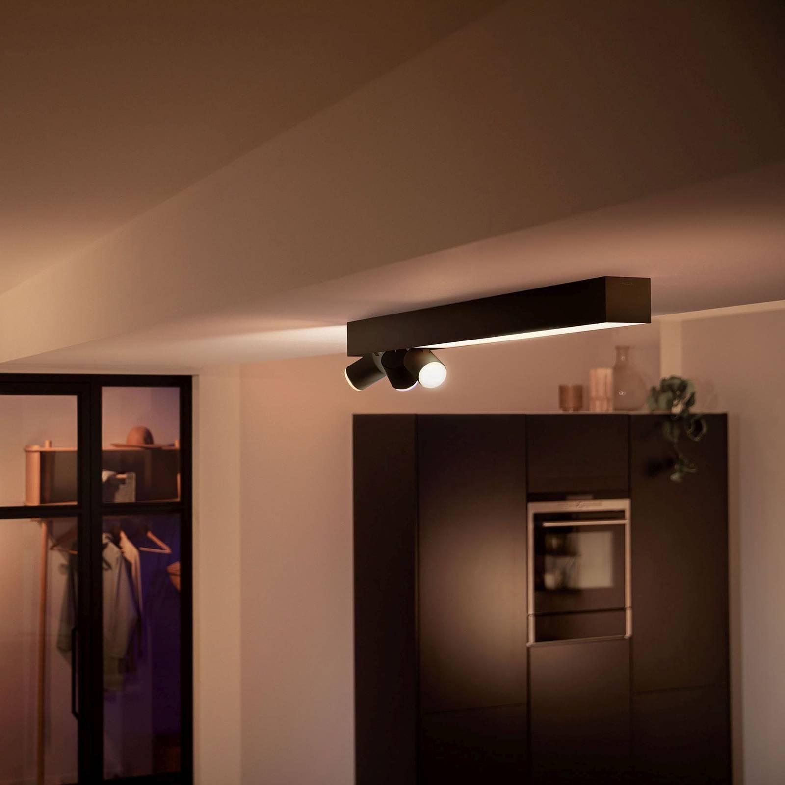 Philips Hue Centris -kattospotti 3-lamppuinen
