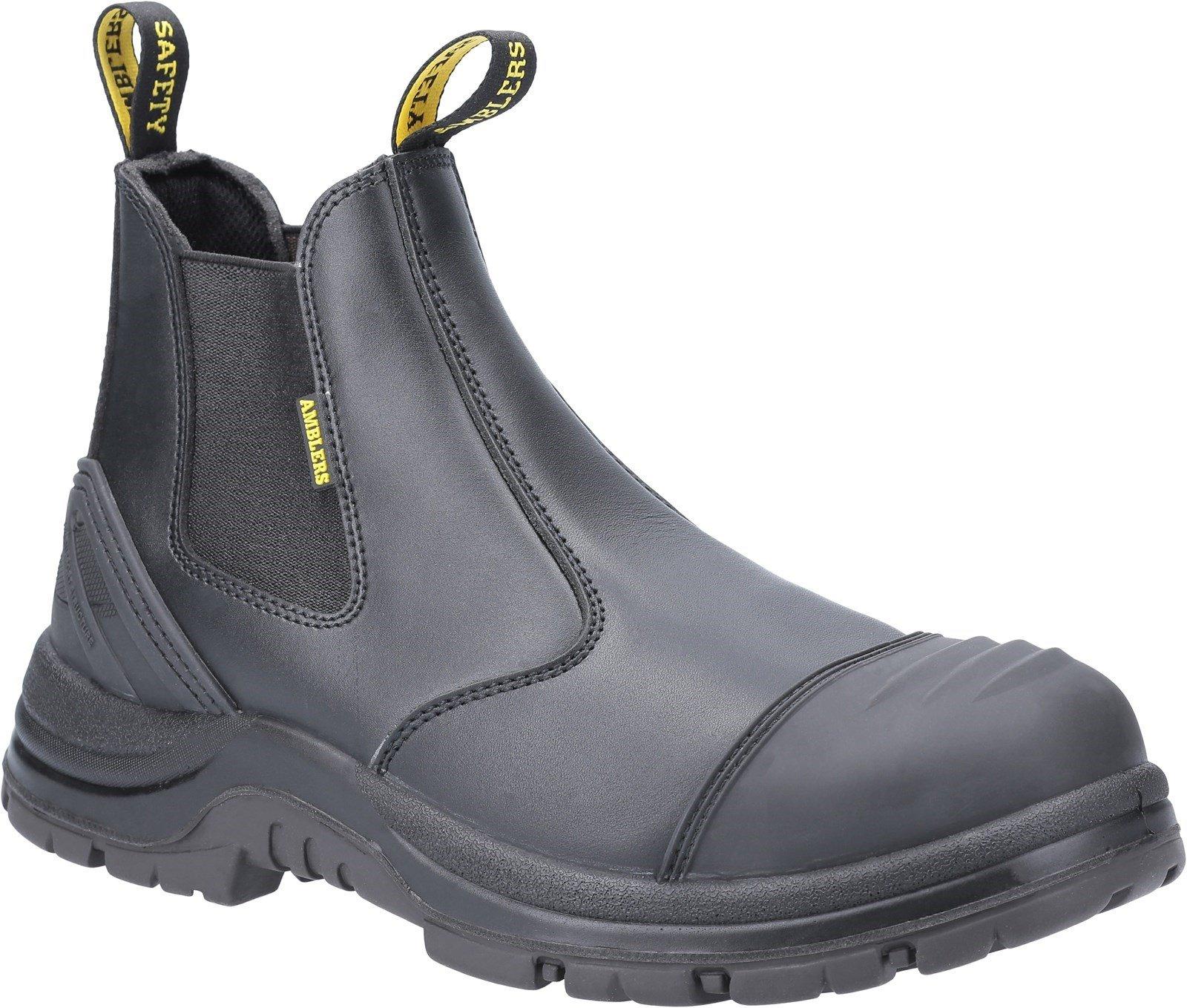 Amblers Safety Unisex Dealer Boot Black 31377 - Black 4
