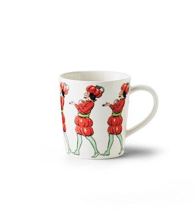 Elas Tomato mug with handle 40 cl
