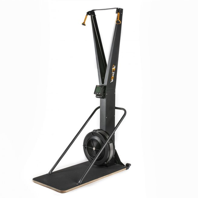Thor Fitness Air Skier With Board, Stakmaskin