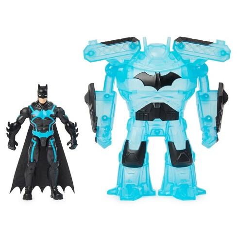 "Batman - Bat-Tech 4"" Deluxe Action Figure w/Transforming Tech Armor (6060779)"