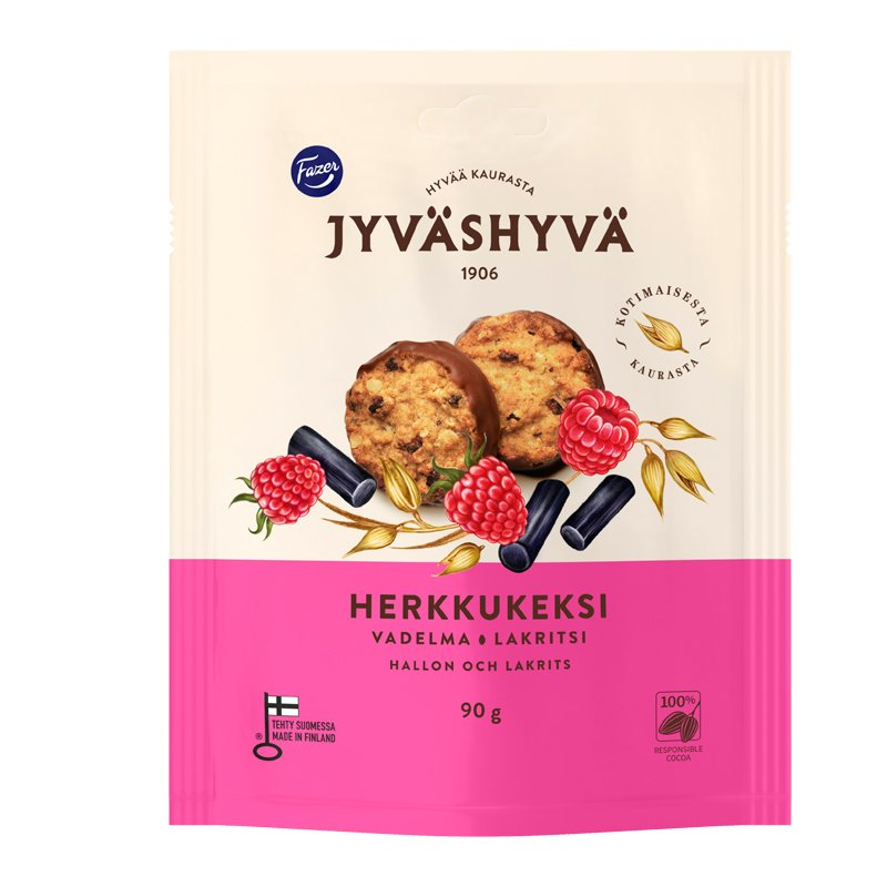 Havrekex Mjölkchoklad & Lakrits - 28% rabatt