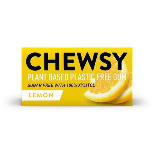 Chewsy Naturligt Tuggummi Citron, 15 g