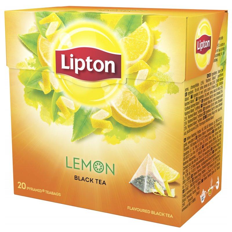 Svart Te Lemon - 44% rabatt