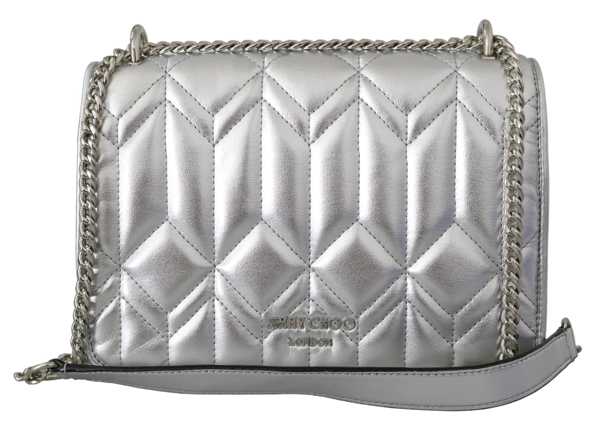Jimmy Choo Women's Diondra Shoulder Bag Silver 1436155
