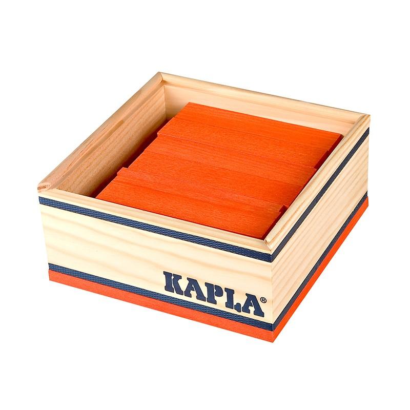 Kapla - Orange blocks - 40 pc