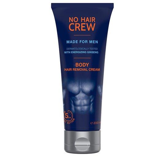Body Hair Removal Cream, No Hair Crew Ihokarvanpoistovoide