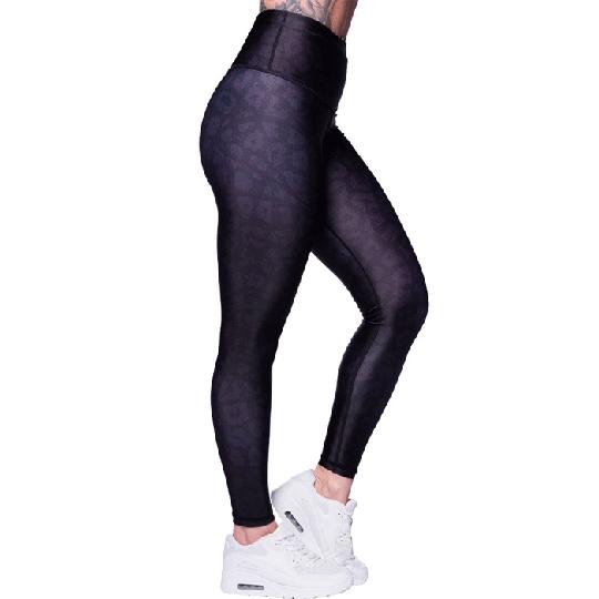 Black Panther Leggings, Black/Grey