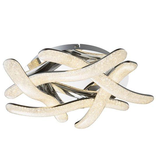 Tehokas LED-kattovalaisin Nabro, kromi, 60 W