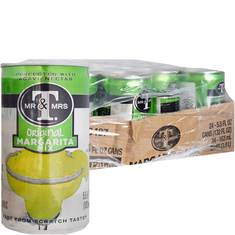 """Laatikollinen """"Margarita Mix"""" Juomia 24 x 163ml - 63% alennus"""