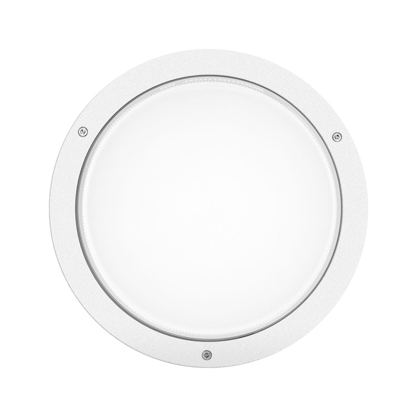 LED-vegglampe Bliz Round 30 3 000 K, hvit dimbar