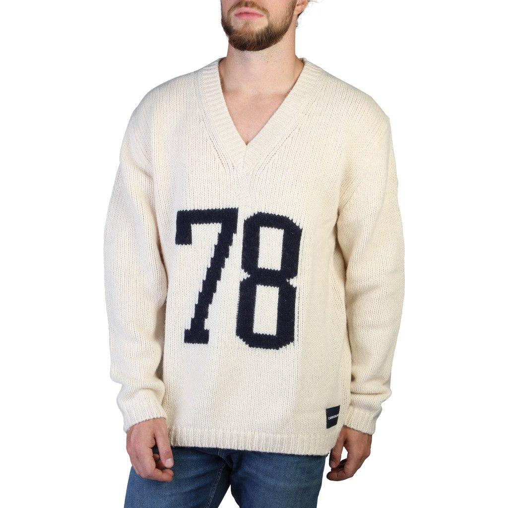 Calvin Klein Men's Sweaters White 349356 - white S