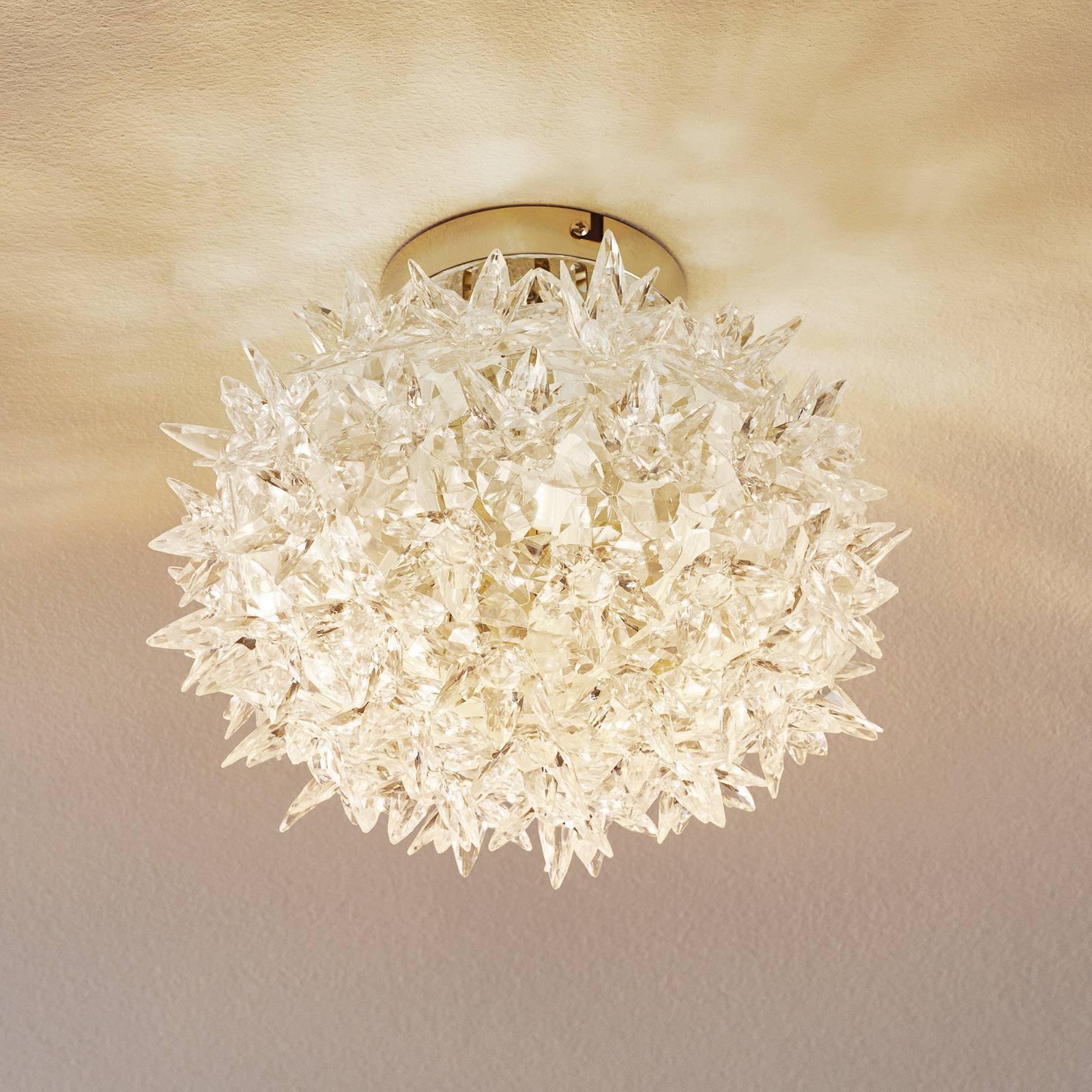 Kartell Bloom LED-taklampe, 28 cm