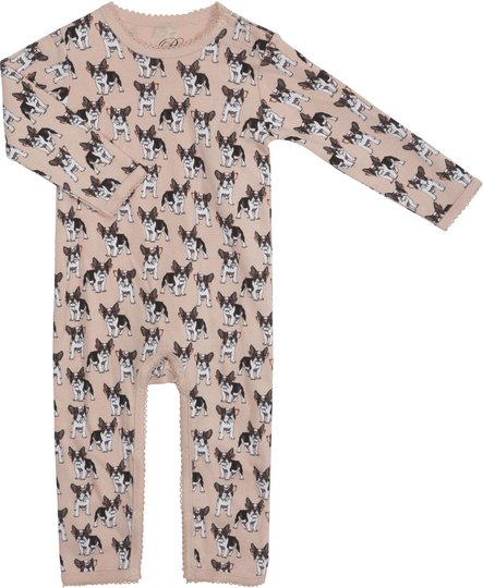 Petit By Sofie Schnoor Jumpsuit, French Bulldog 80