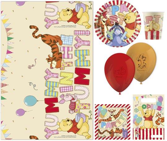 Disney Ole Brumm Partypakke Alfabet