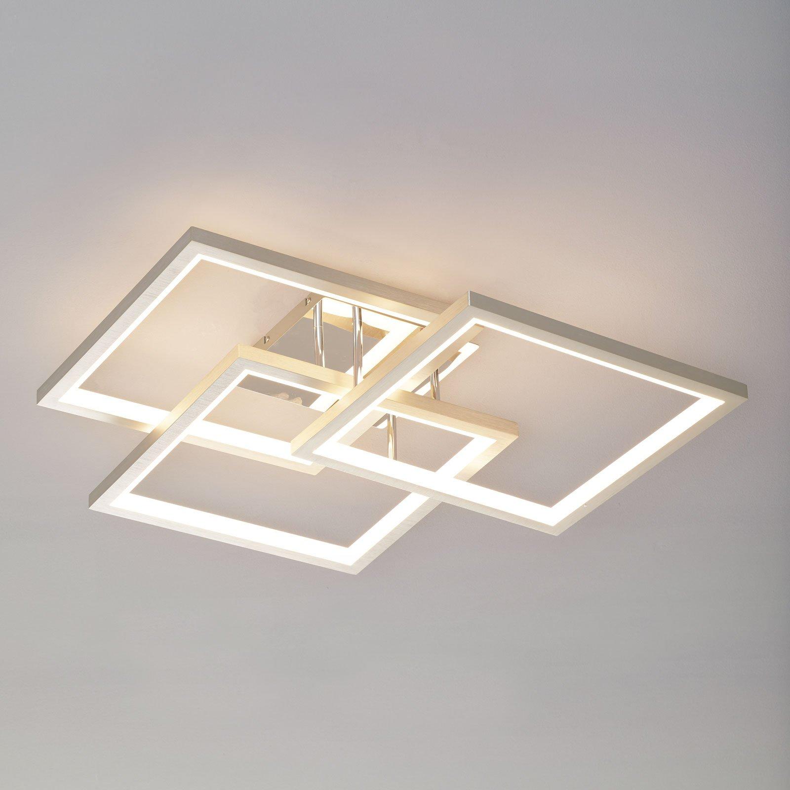 Effektfull LED-taklampe Viso, dimbar