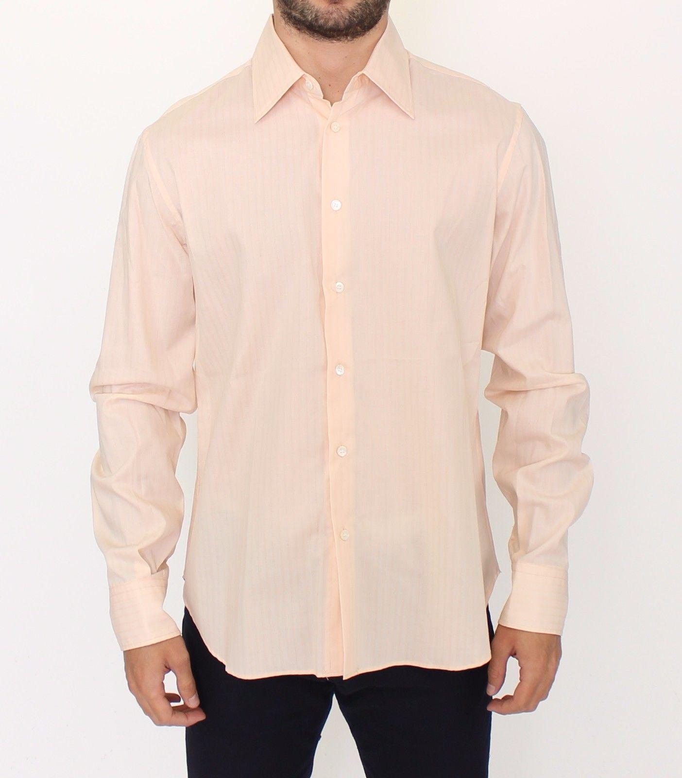 Ermanno Scervino Men's Shirt Orange SIG10145 - IT50 | L