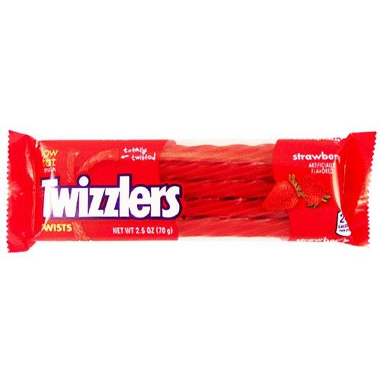 "Godis ""Strawberry Twizzlers"" 70g - 63% rabatt"