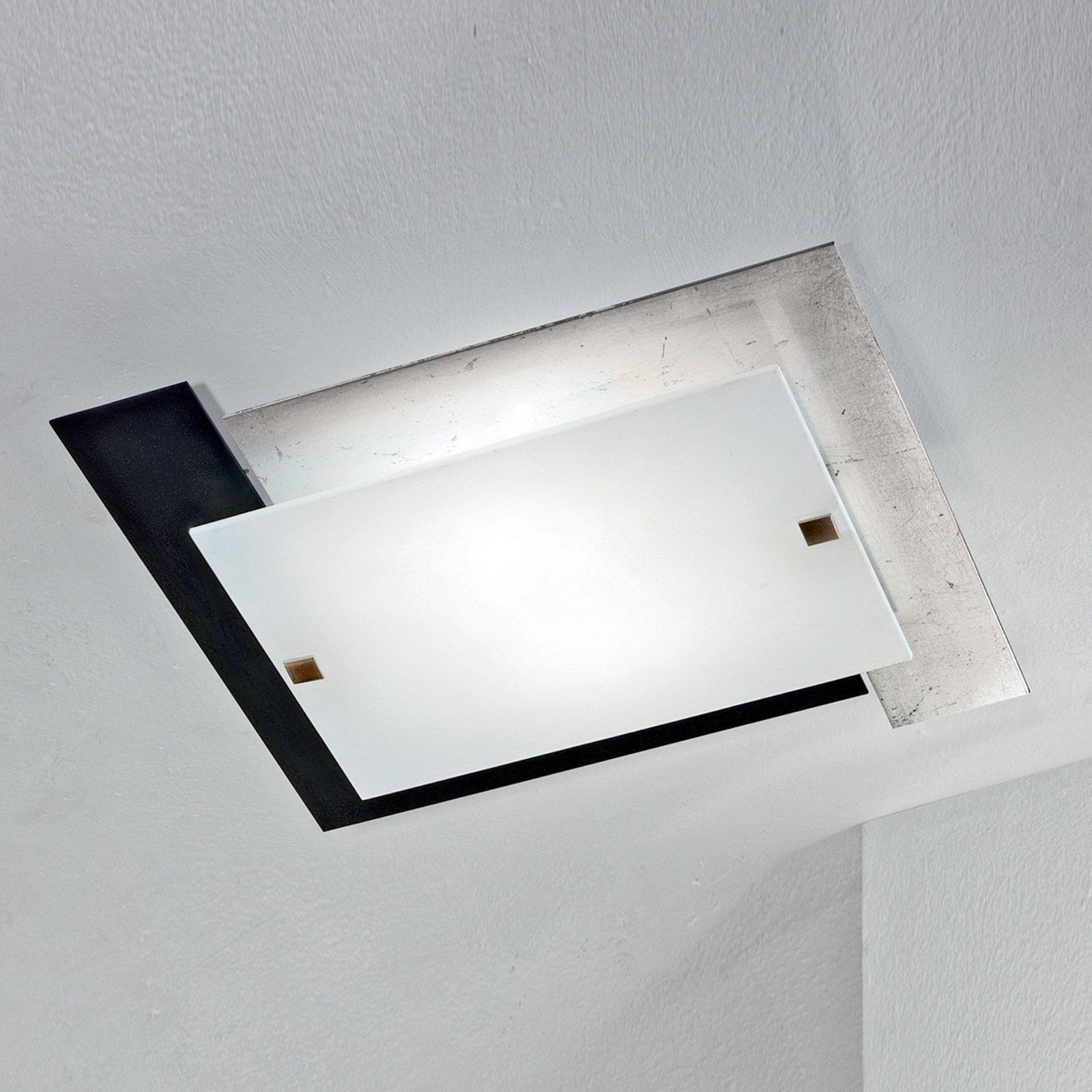 Særegen ARLESTRA taklampe i sølv