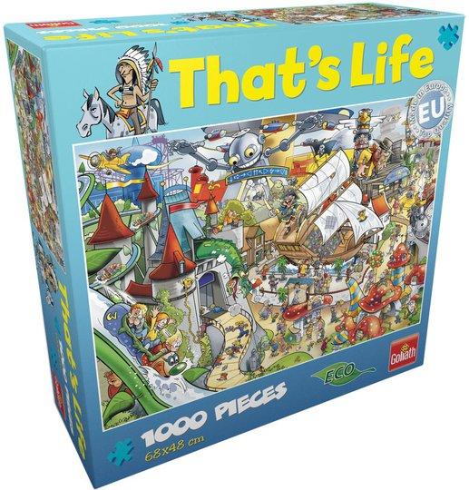 Goliath Games Puslespill That's Life - Amusement 1000 Brikker