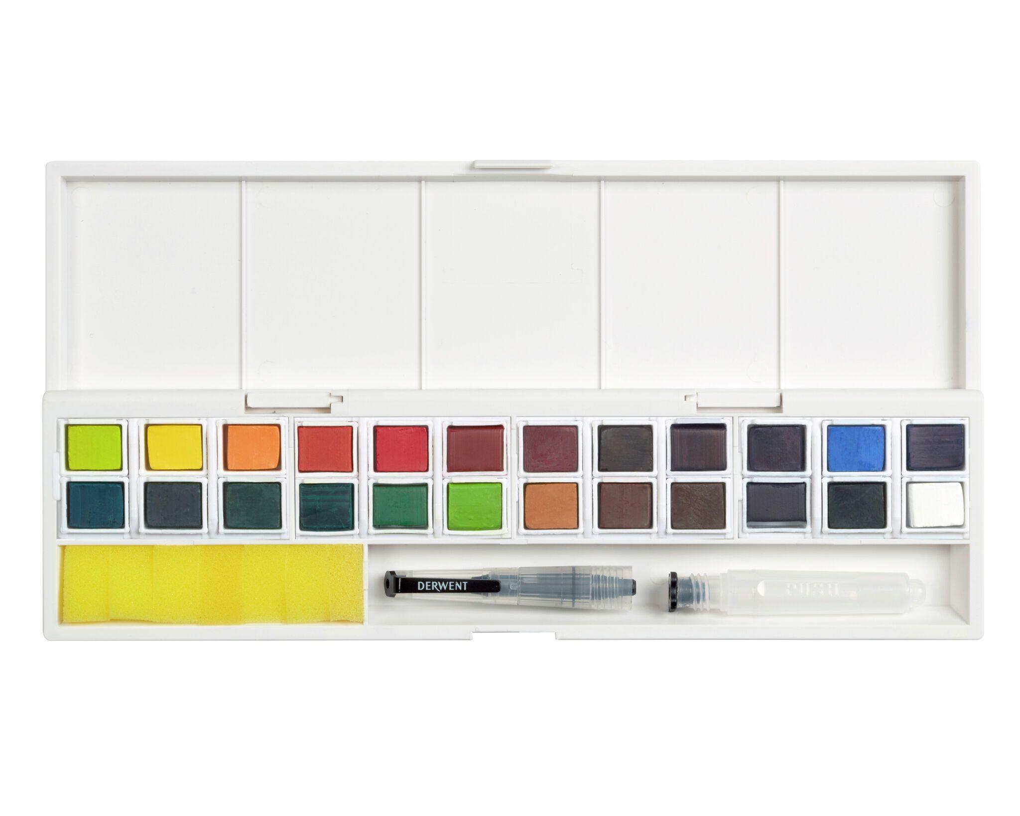 Derwent - Inktense Paint 24 Pan Palette (603054)