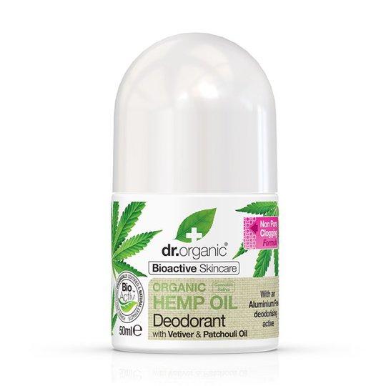 Dr. Organic Hemp Oil Deodorant, 50 ml