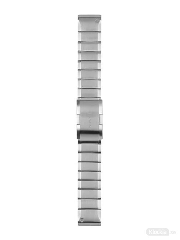 Garmin QuickFit 22mm - Klockarmband, Rostfritt stål