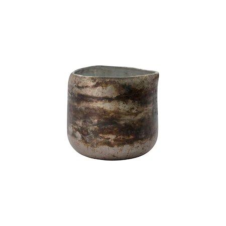 Lysestake Pearl Antikk metallisk