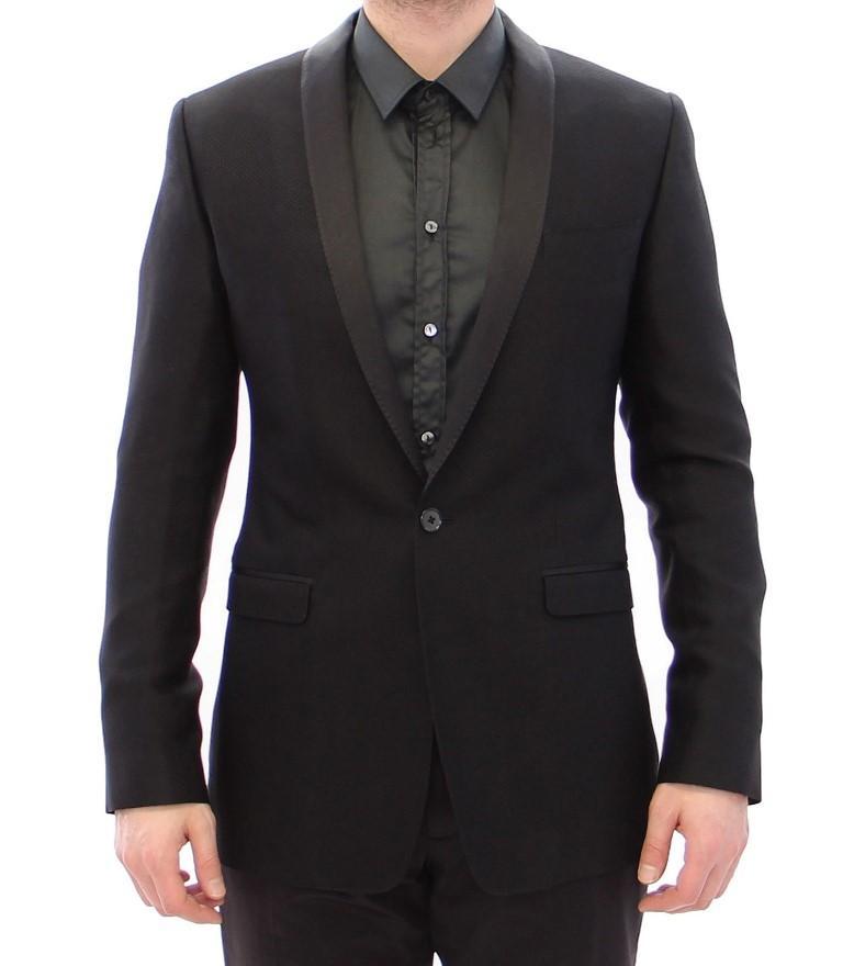 Dolce & Gabbana Men's Slim Smoking Blazer Beige GJH10758 - IT54   XXL