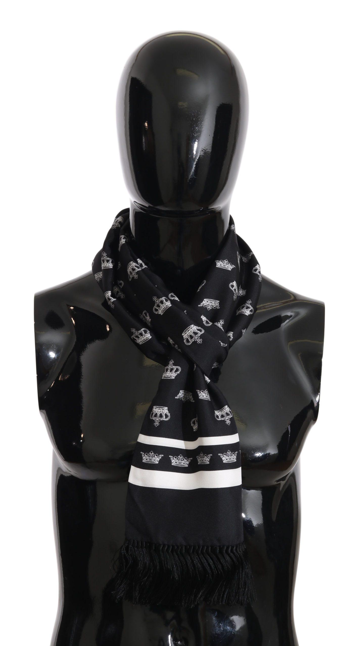 Dolce & Gabbana Men's Scarf Blue MS2333