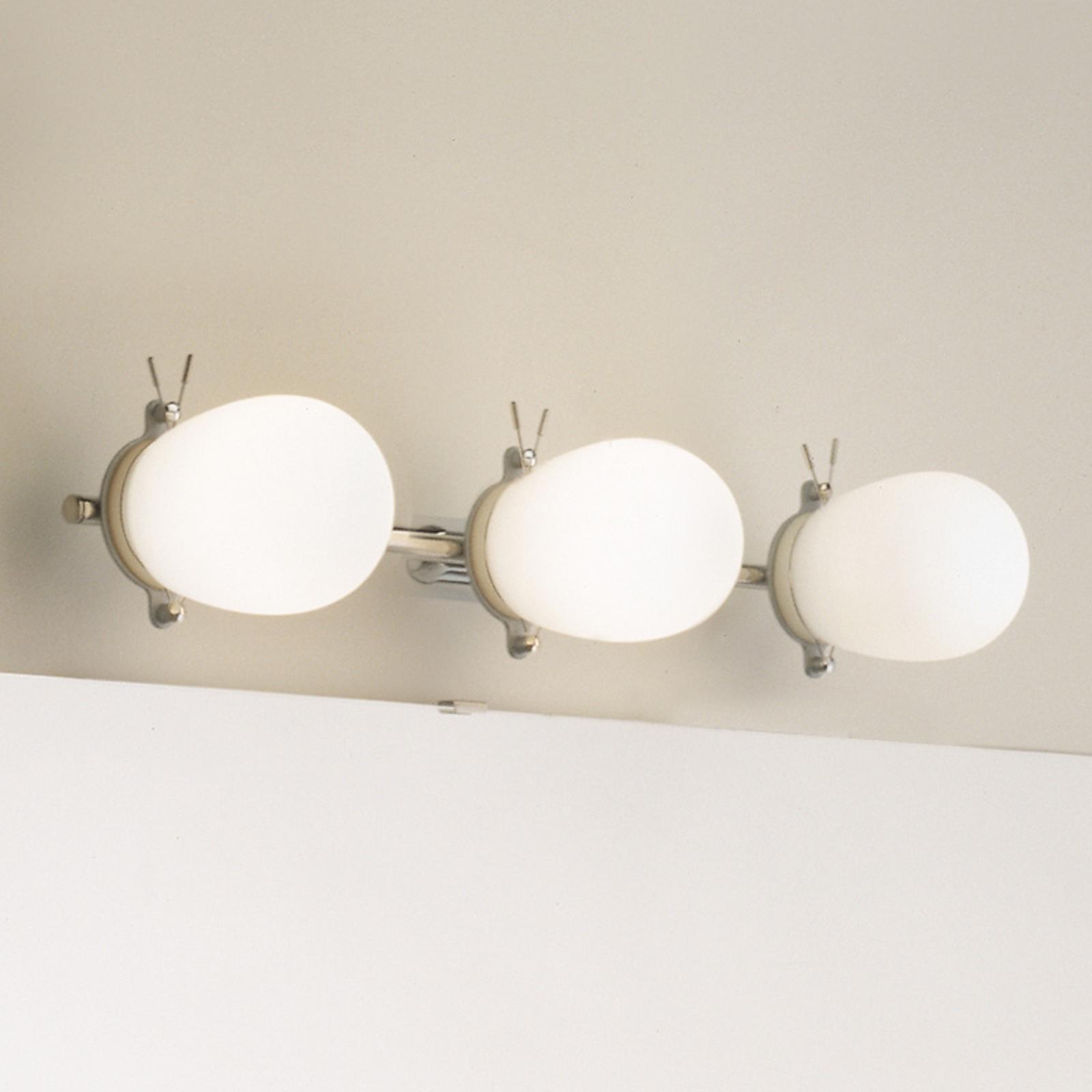 Kaunis kylpyhuoneen seinävalaisin Bano, 3 lamppua