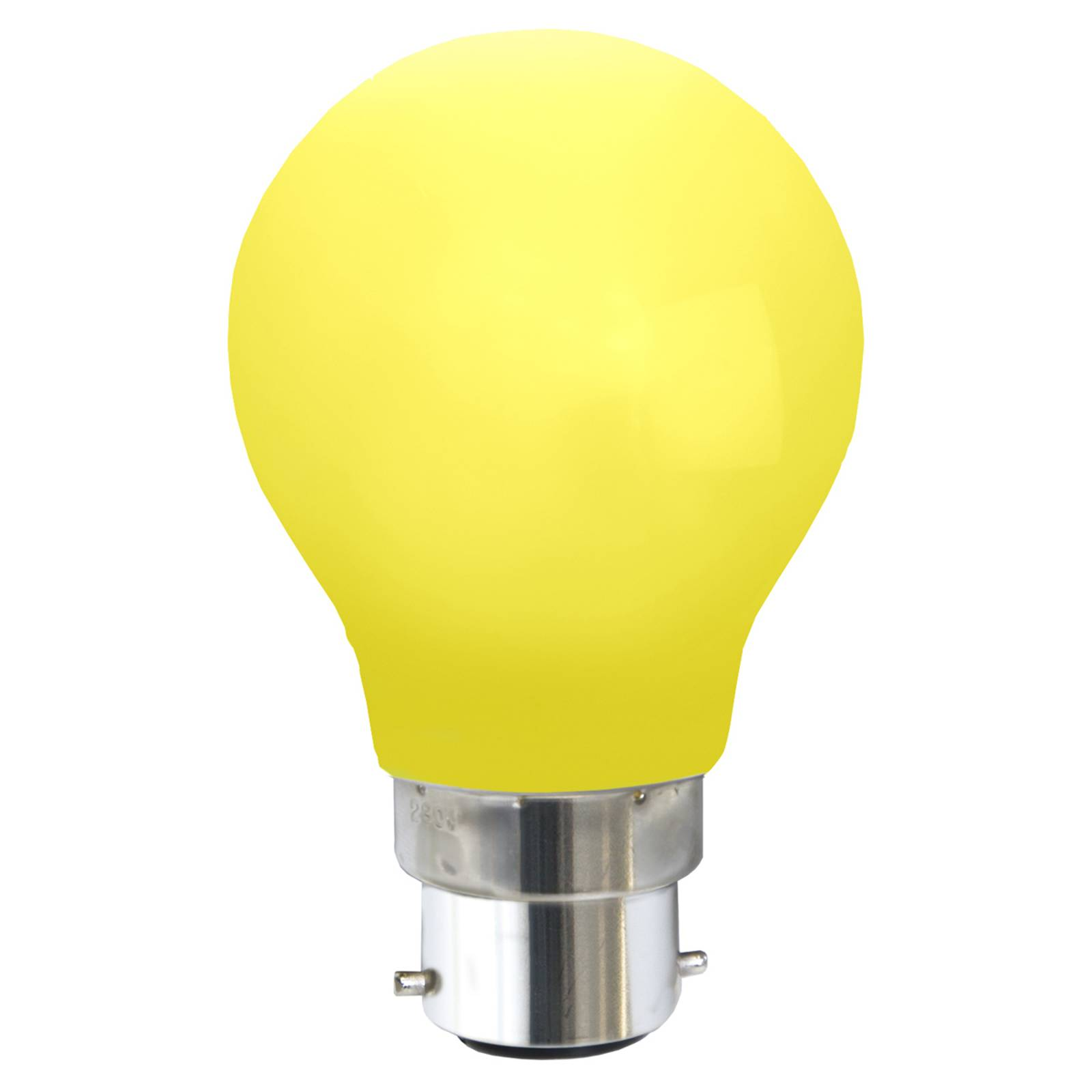 B22 0,8W -LED-lamppu, keltainen