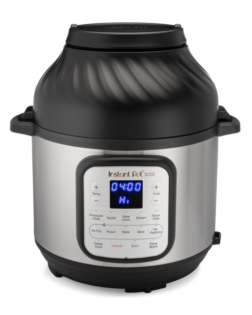 Instant Pot Crips-(11in1)-8,0l Multicookers - Stål