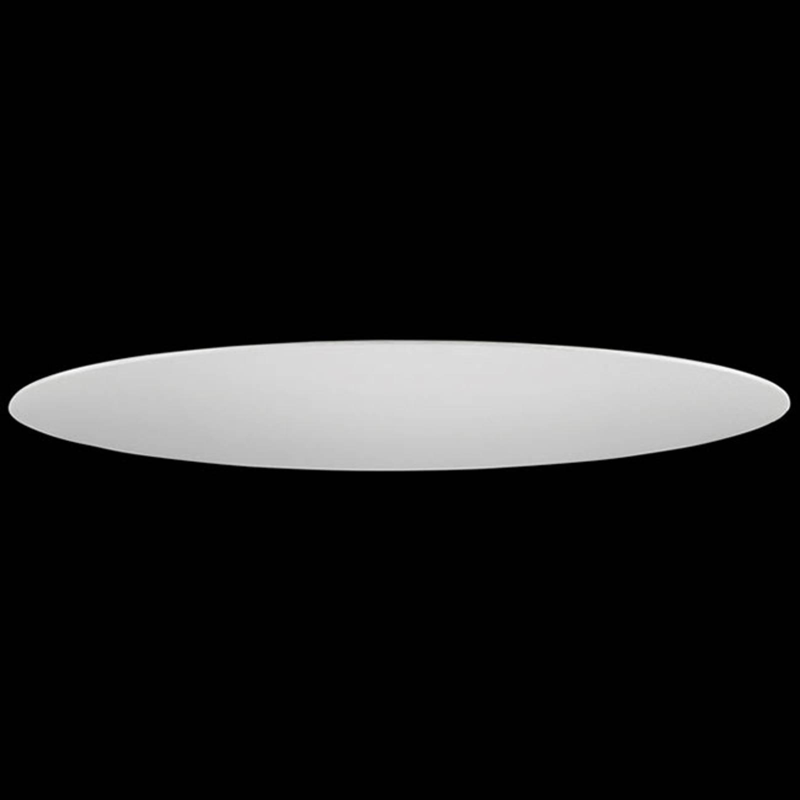 Skjerm til HV-skinne 4, Ø 40 cm, chintz, krem
