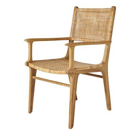 Tegal Chair w armres