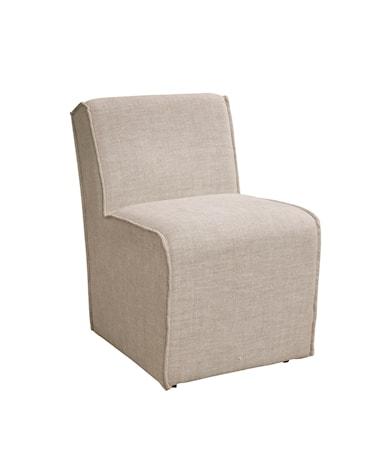 ROXANNE dining chair linen sand