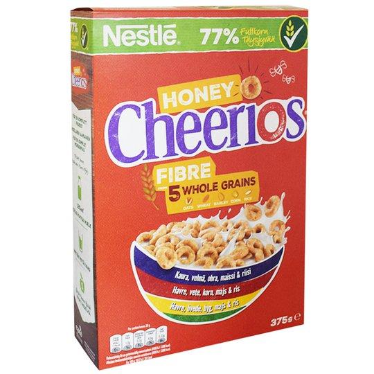 """Frukostflingor """"Honey & Whole Grain"""" 375g - 39% rabatt"""