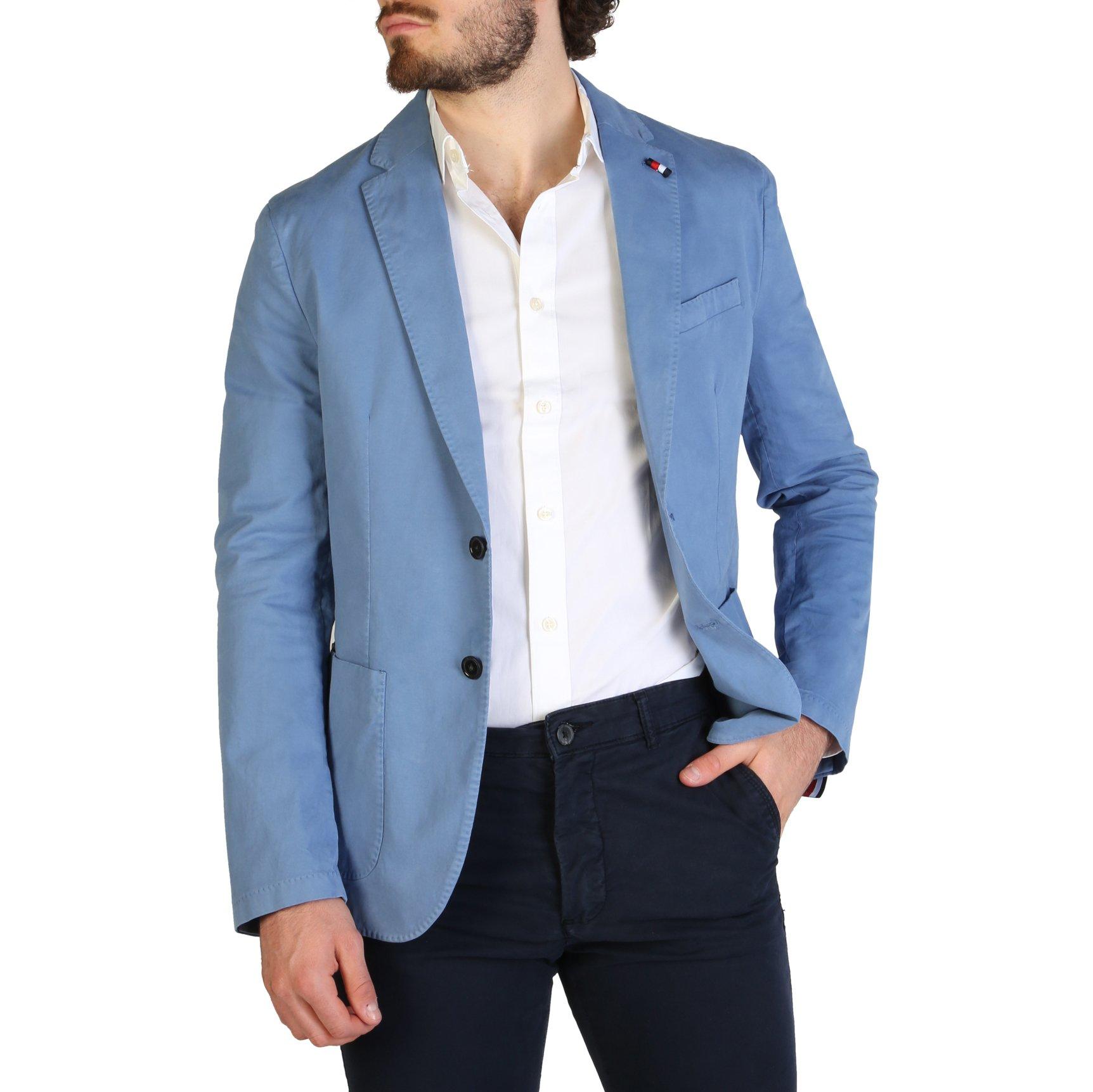 Tommy Hilfiger Men's Formal Jacket Blue TT0TT06967 - blue 44