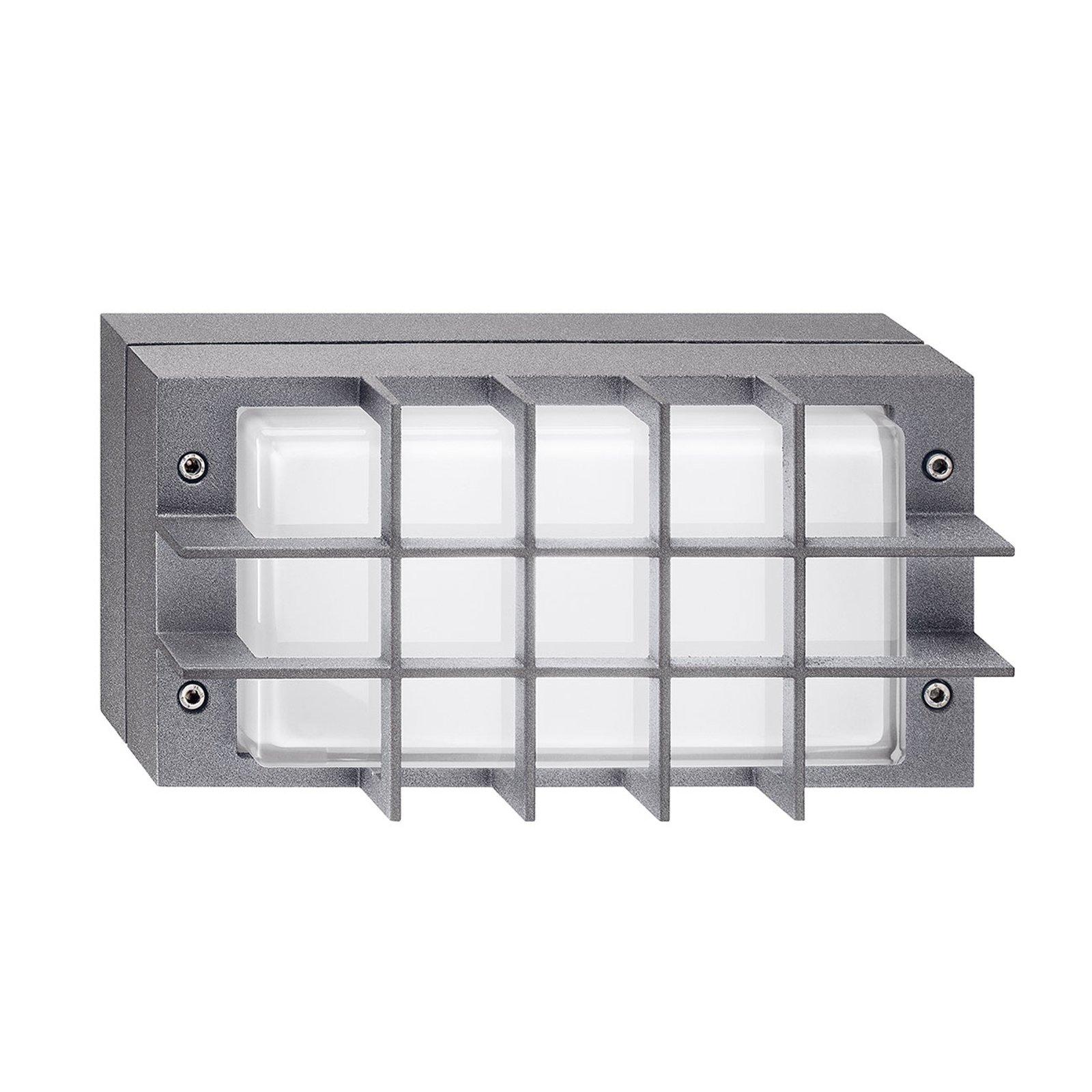Utendørs LED-vegglampe Bliz LED Guard, 3000 K, grå