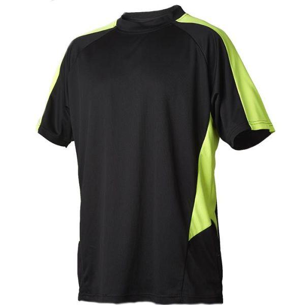 Vidar Workwear V71005103 T-skjorte gul/svart XS