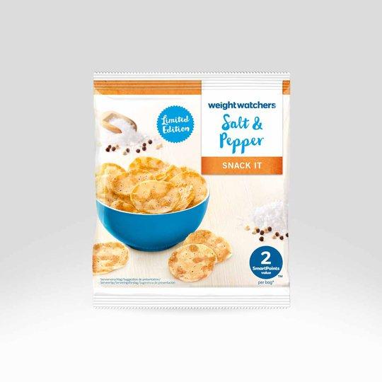 """Viktväktarna Chips """"Salt & Pepper"""" 21g - 33% rabatt"""