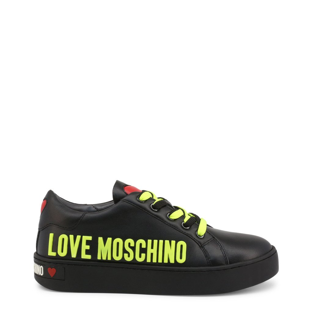Love Moschino Women's Trainer Black JA15113G1CIAF - black EU 36