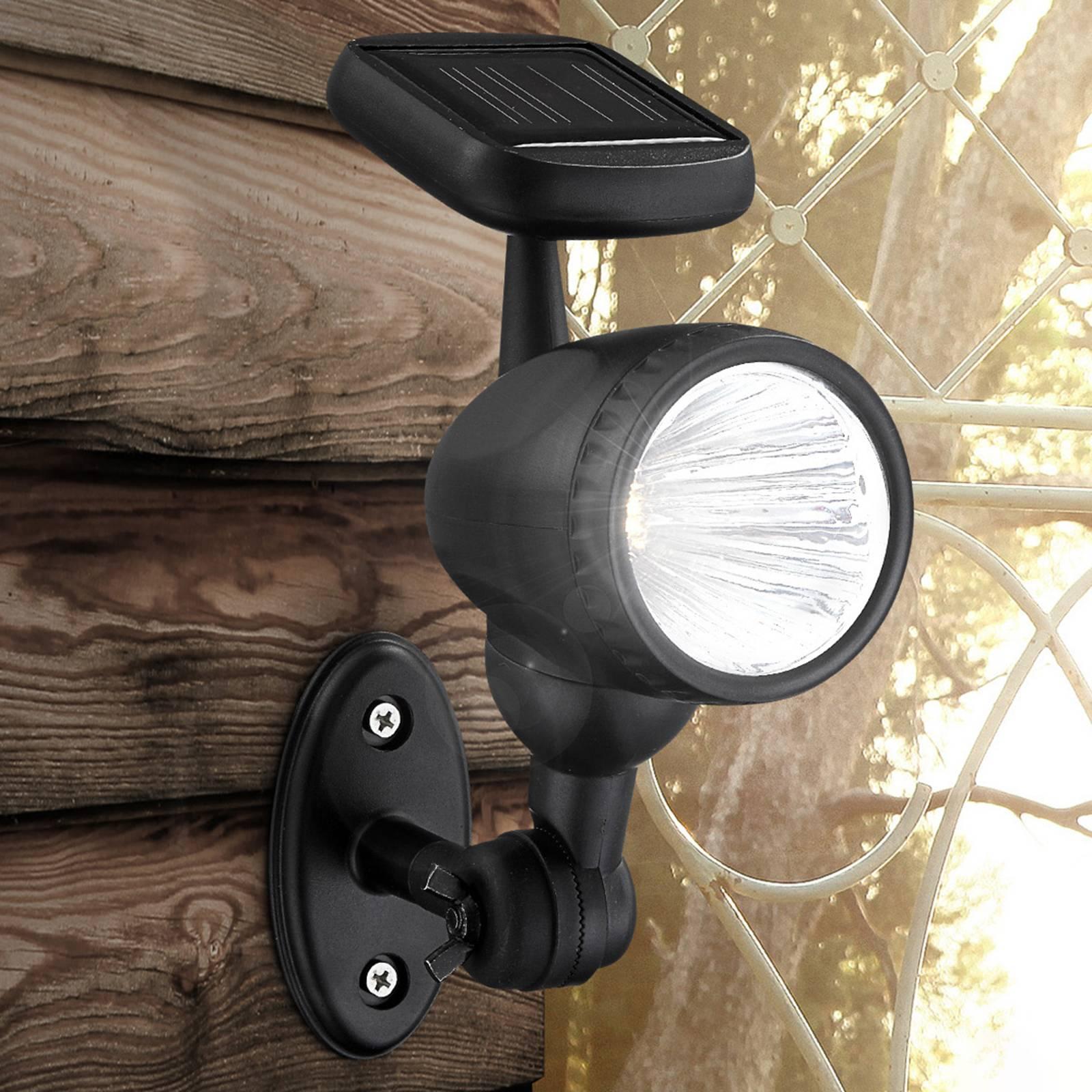 Aurinkokäyttöinen ulkoseinälamppu Mawe