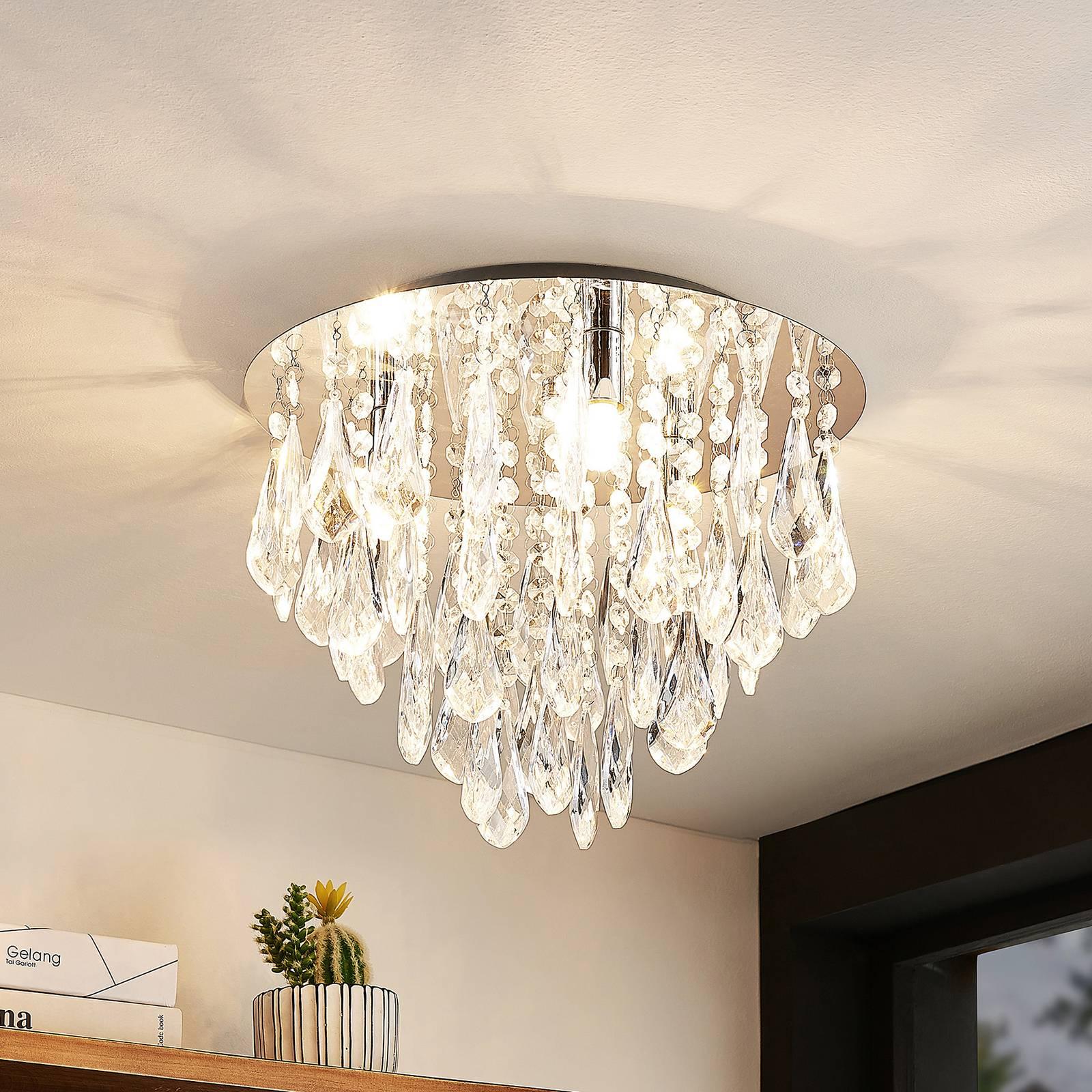 Lindby Mavinus -kattovalaisin, 3-lamppuinen