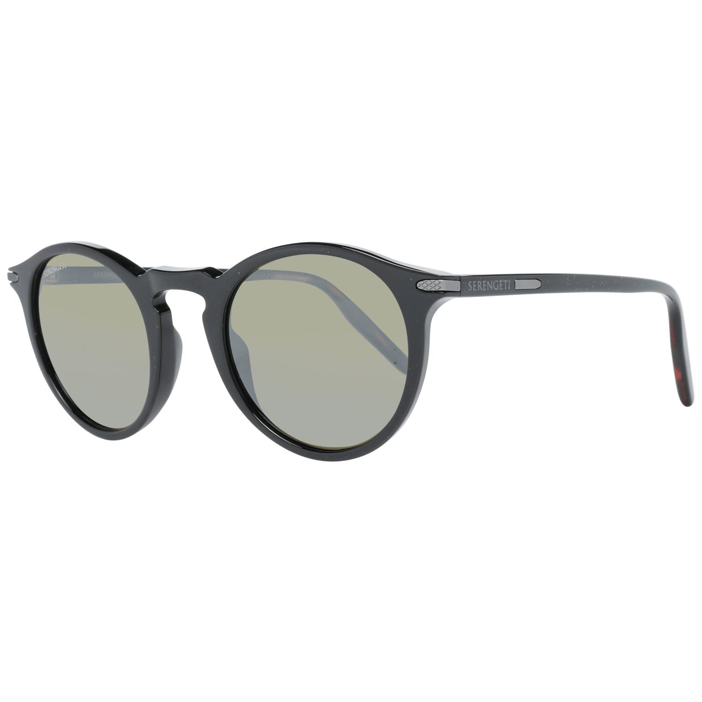 Serengeti Men's Sunglasses Black 8834