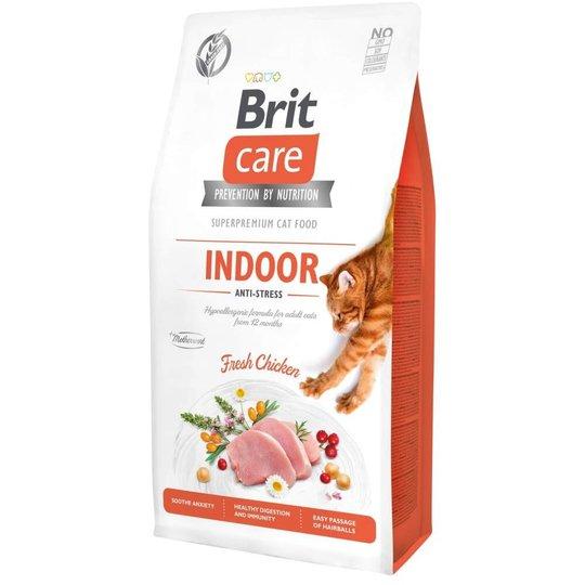 Brit Care Cat Grain Free Indoor Anti-stress (7 kg)