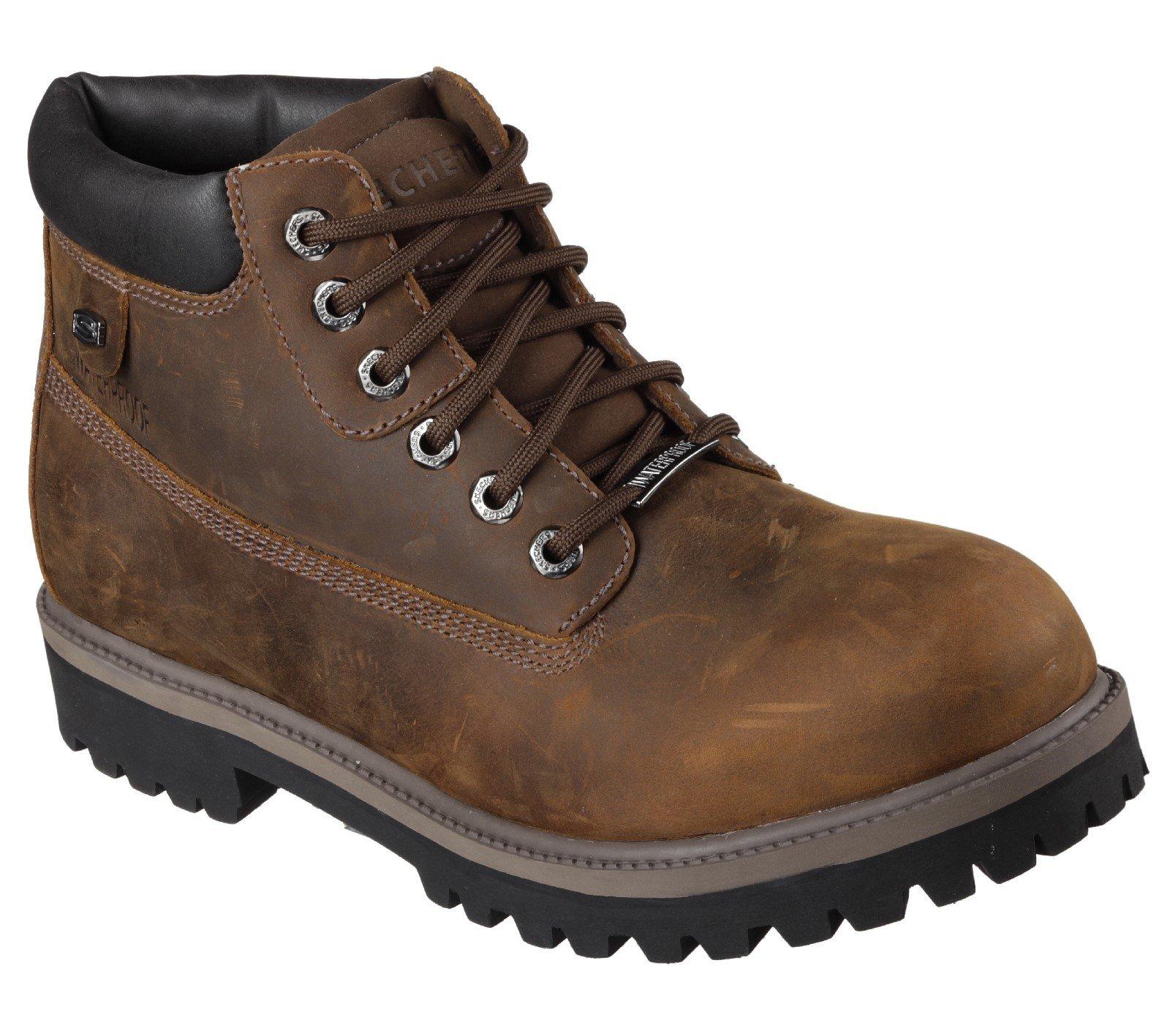 Skechers Unisex Sergeants Verdict Boot Various Colours 18261 - Brown 6
